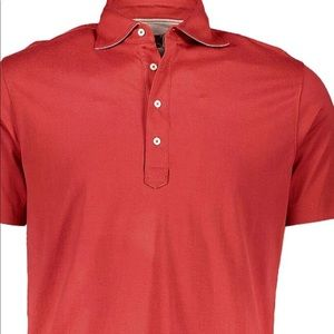 Other - ❤️ red pima cotton polo shirt